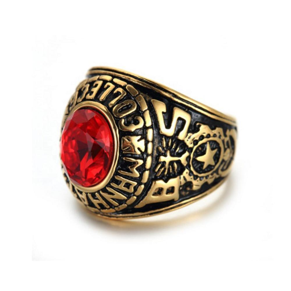 Hot sale military ring stainless steel jewellery