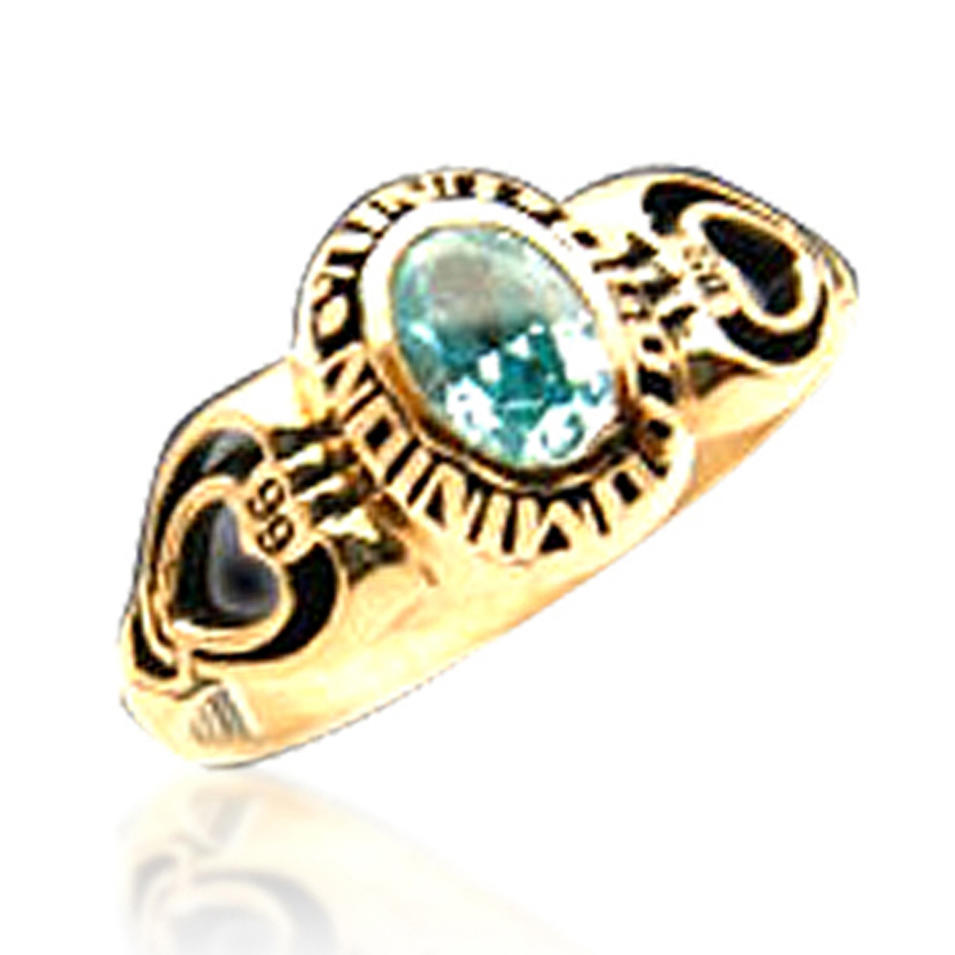 High quality hottest custom design school ring, collge ring