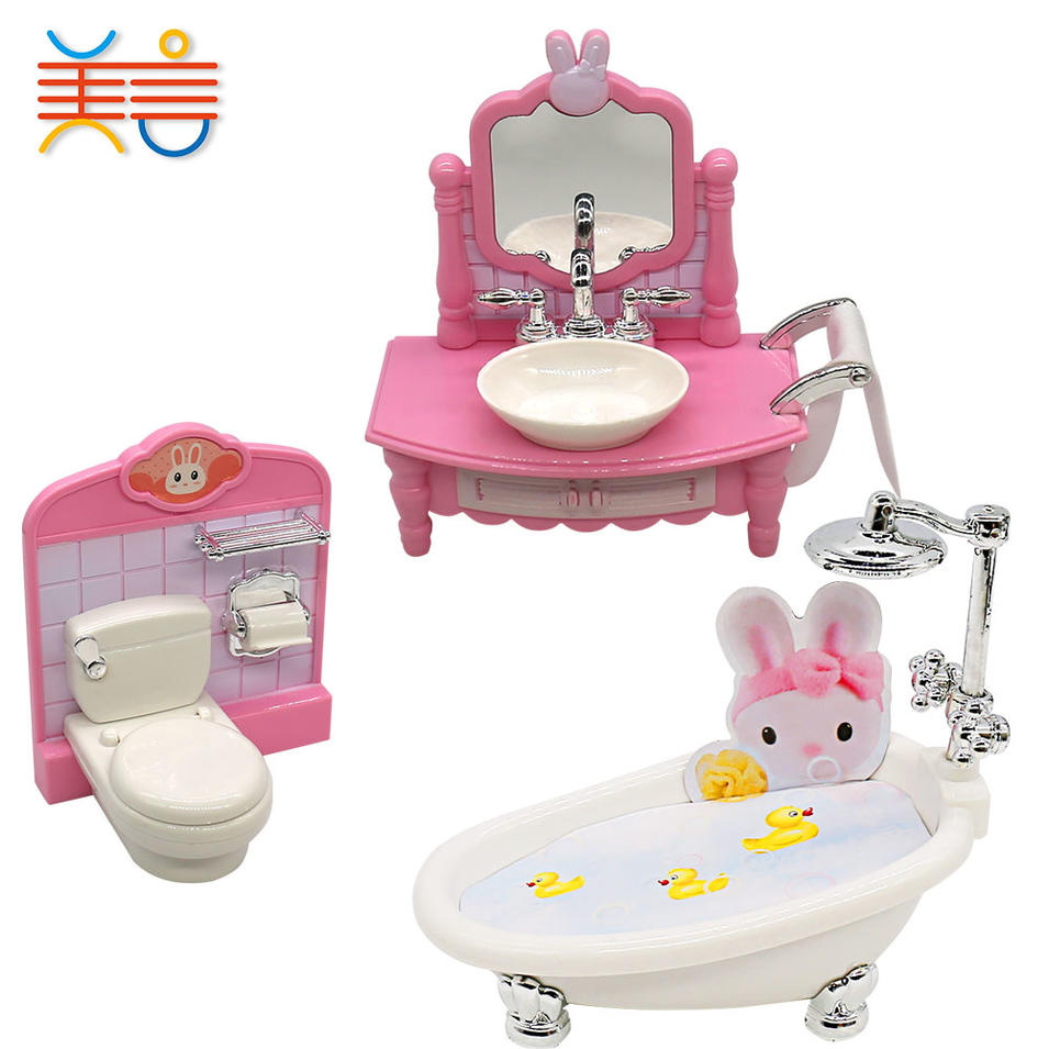 Children Miniatur Puppy Toys Bigger Dream Doll Figures Girl Big Dolls Houses For Bath Children House