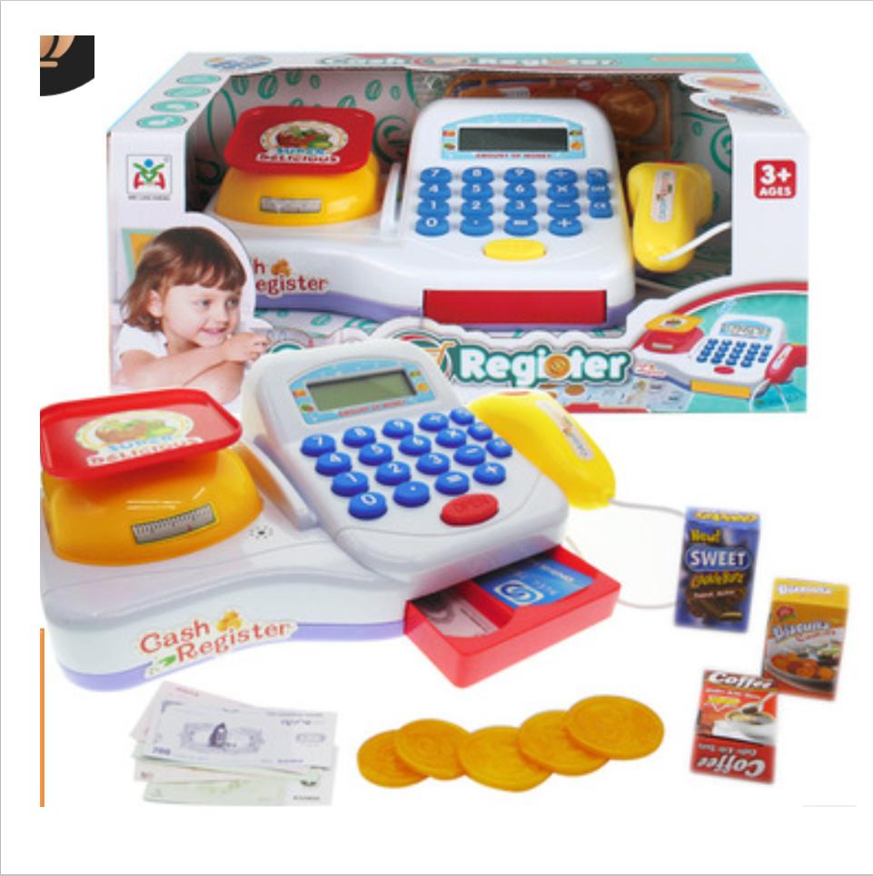 Child Play Baby Portable Plastic Home Cartoon Shape Funny Pretend Play Supermarket Kichen Kitchen Toys Sets