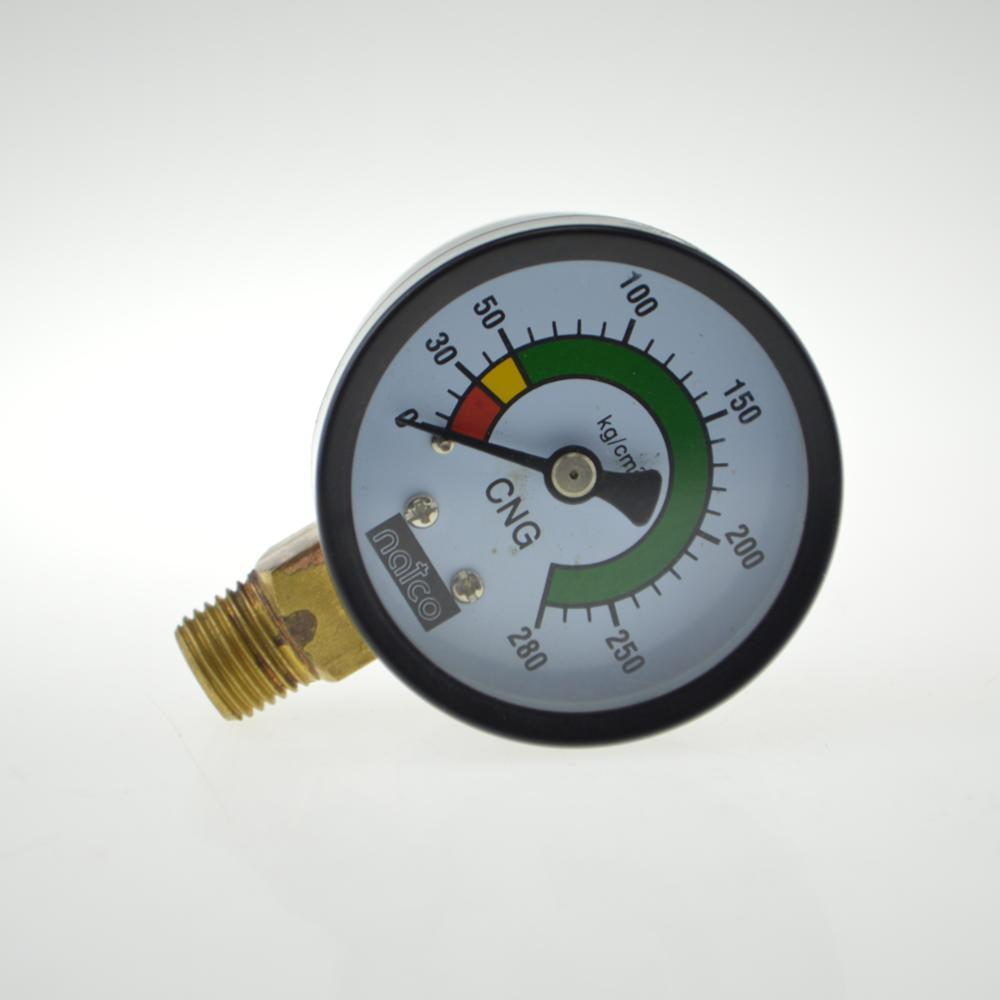 black steel 50mm small pressure gauge