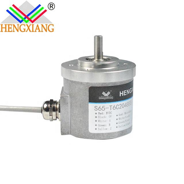 S65 diameter 65mm high resolution rotary encoder with competitive price