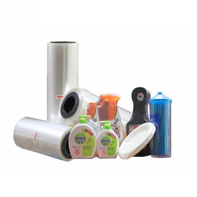 High Quality 19mic/25 microns pof heat shrink wrapping film