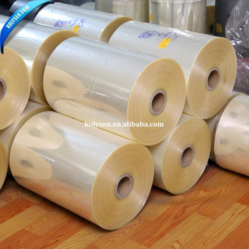 Wholesale Super clarity PVC Shrink Film for Printing and Packing