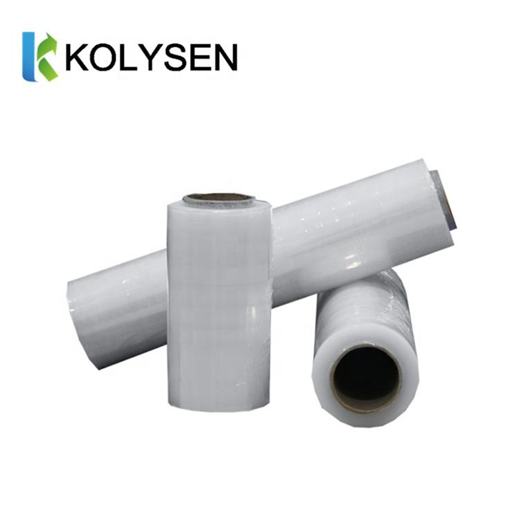 Custom printed logo supply PVC/PET/OPS/POF shrink film for beverage in roll