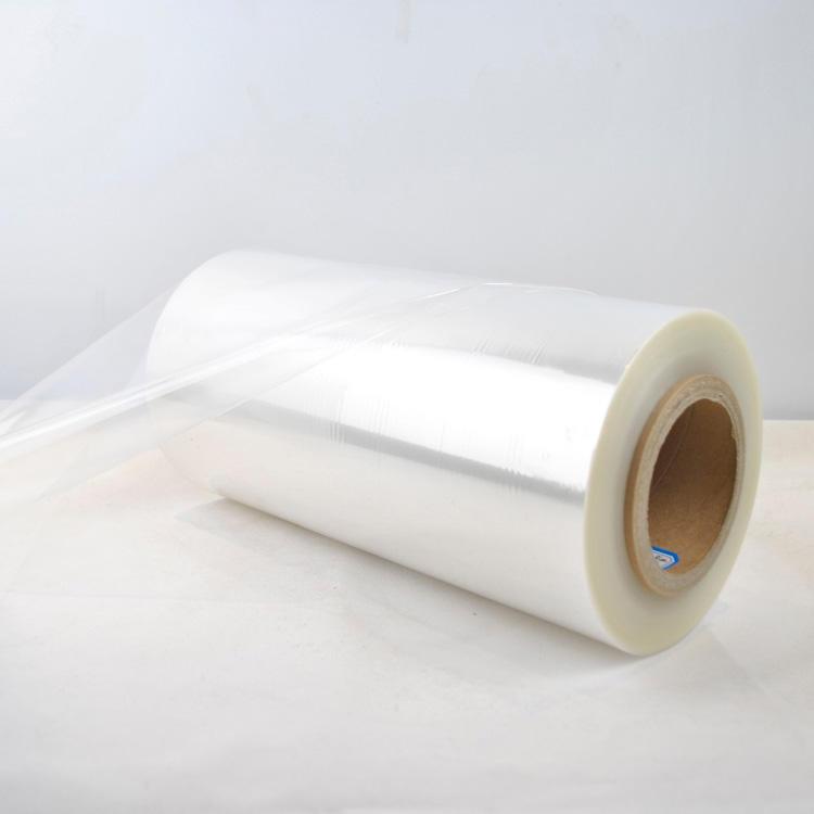 Transparent 19 mic plastic pof shrink tube film