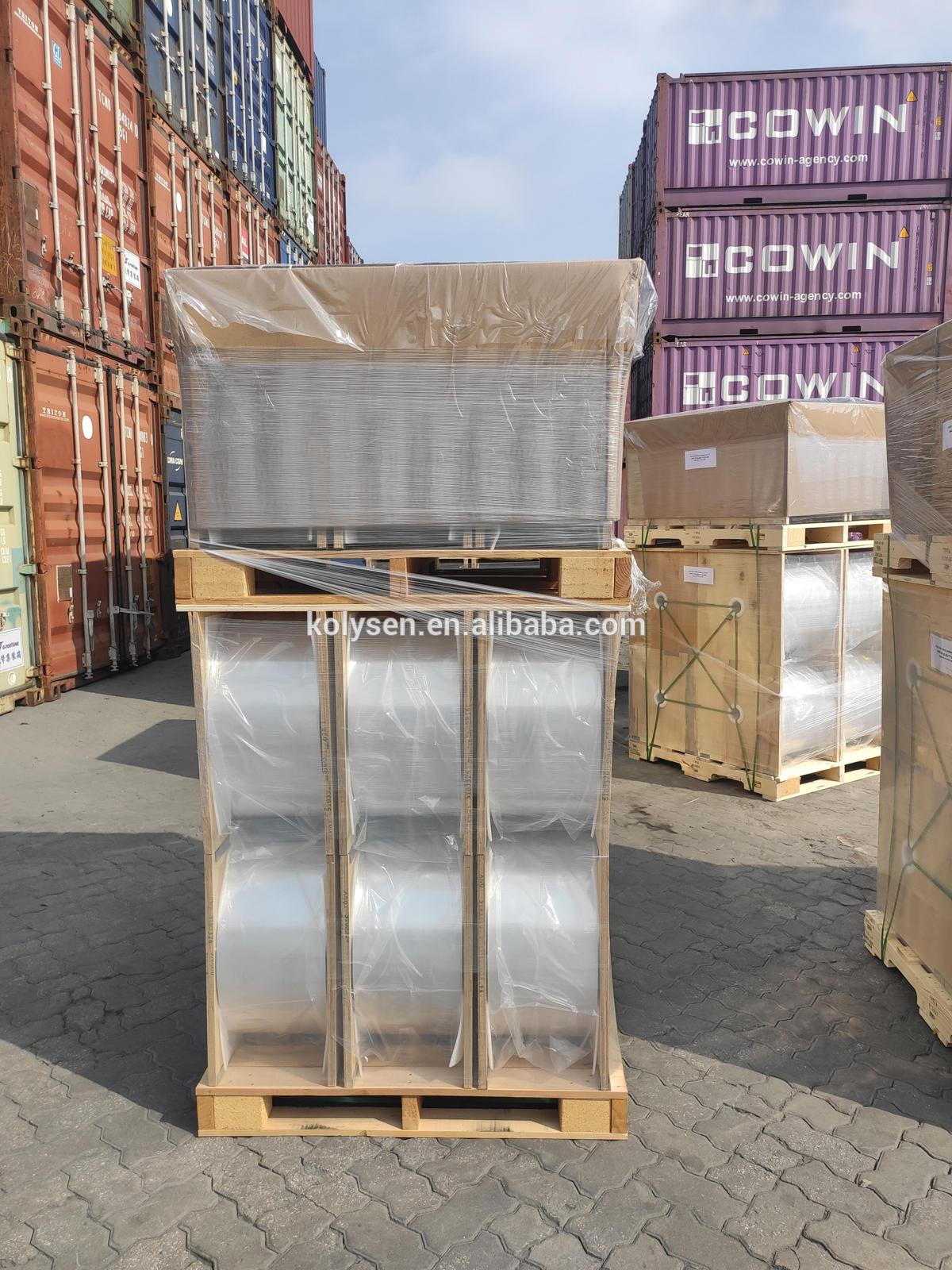 Factory Price High Quality Transparent PETG Shrink Film for Label Printing