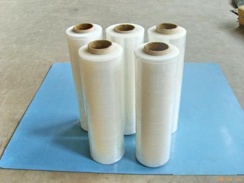 100 Gauge Centerfold Polyolefin Shrink Wrap Film rolls