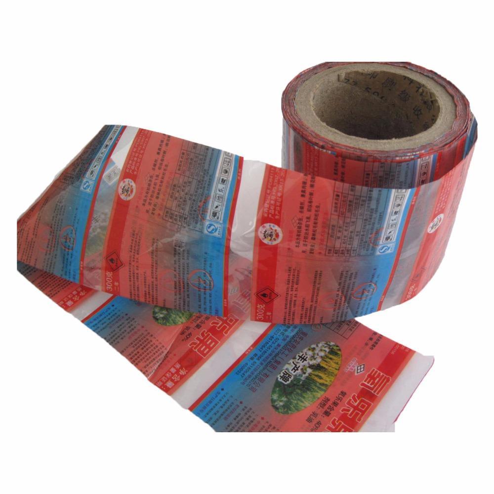 PET shrink film tube for heat sealing