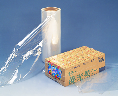 Puncture resistance PE shrink film for mineral water bottle packing