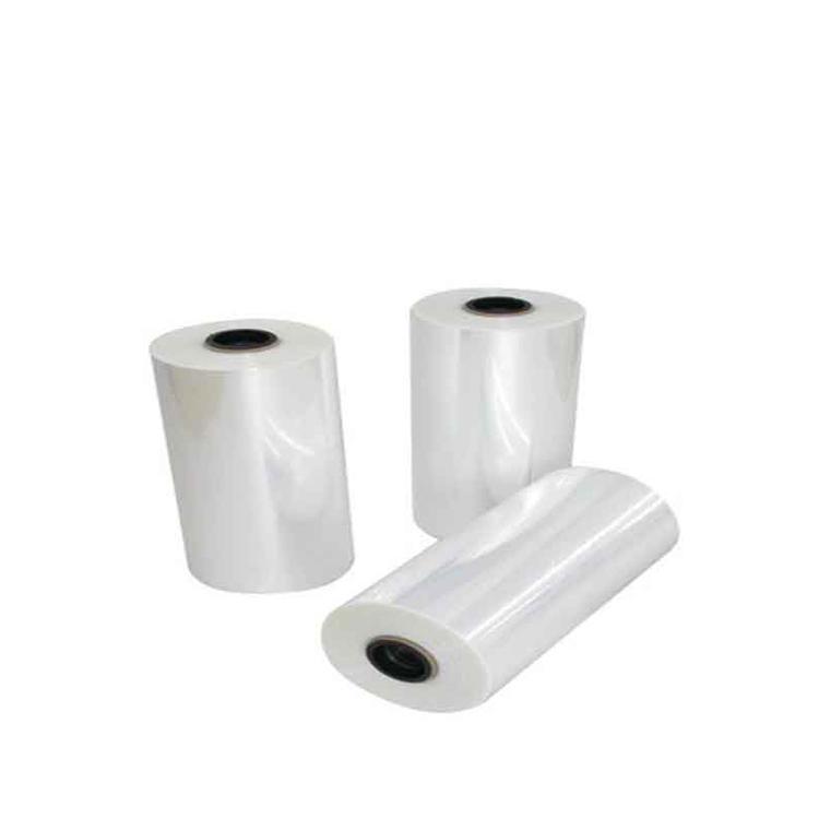 Transparent semi tube film pvc shrink film