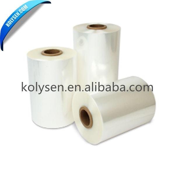 Clear POF and PE plastic heat shrink film tube shrink film bag