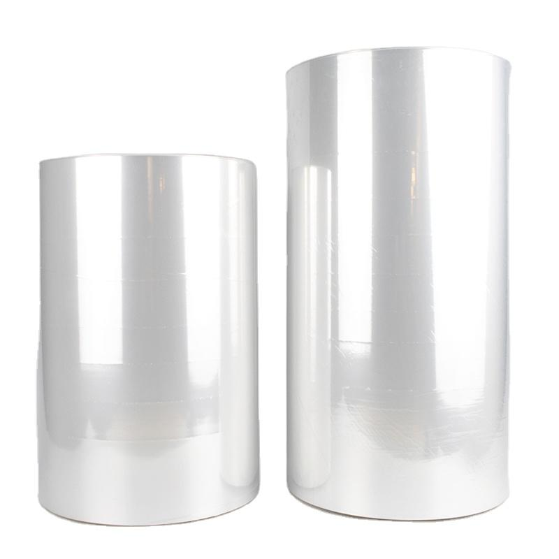 Microperforated POF centre folded shrink film