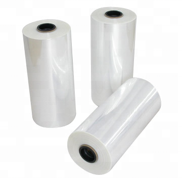 Polyester shrink film