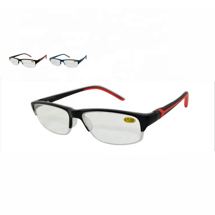 2020 fashionable plastic AC lens reading glasses