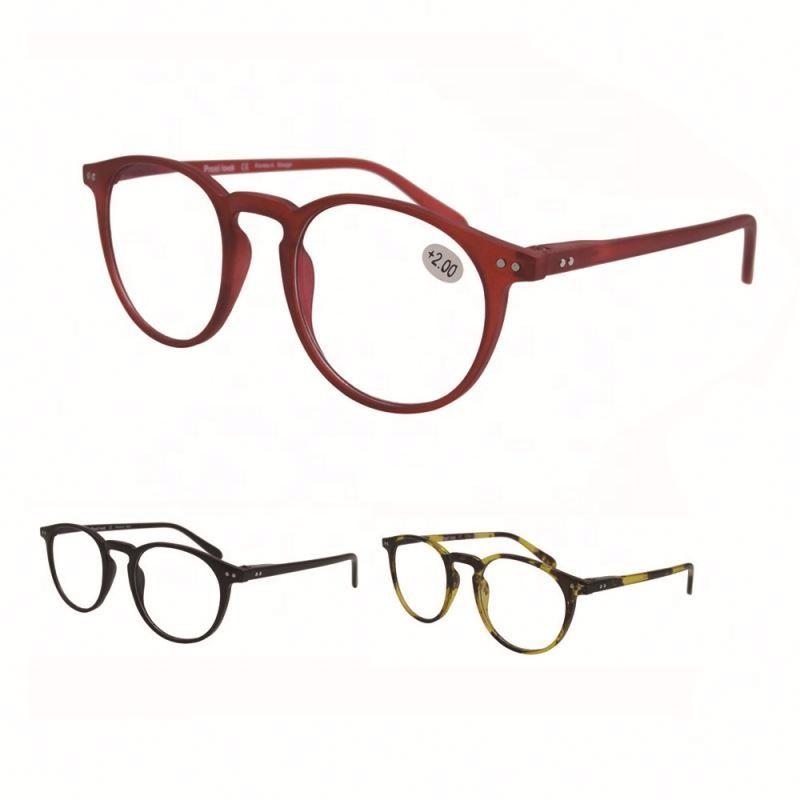 high quality wholesale designer optics spring hinge reading glasses