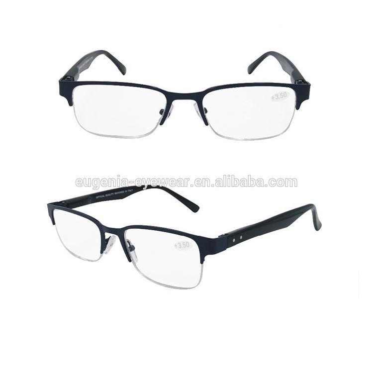 brand name insight display cleaner semi-plastic reading glasses