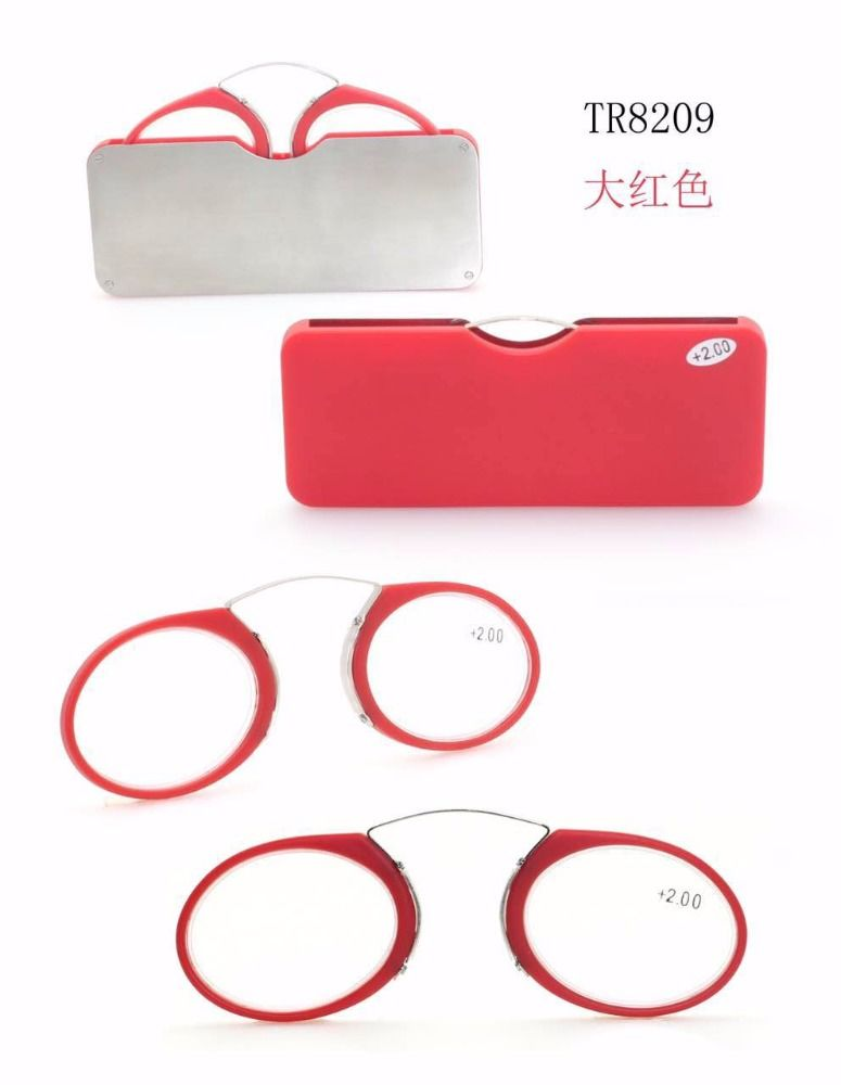new design clic reading glasses without arms reading glasses pocket