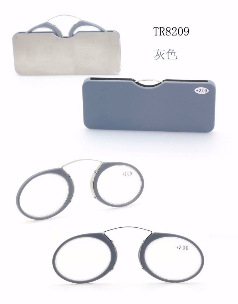 new pocket wholesale slim style reading glasses without arms
