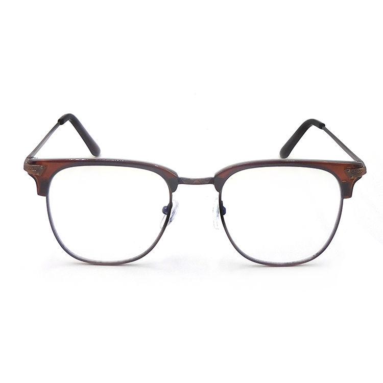 EUGENIA Fashion Anti Blue Light Glasses Metal Stylish Computer Eyeglasses Blue Light Blocking Glasses