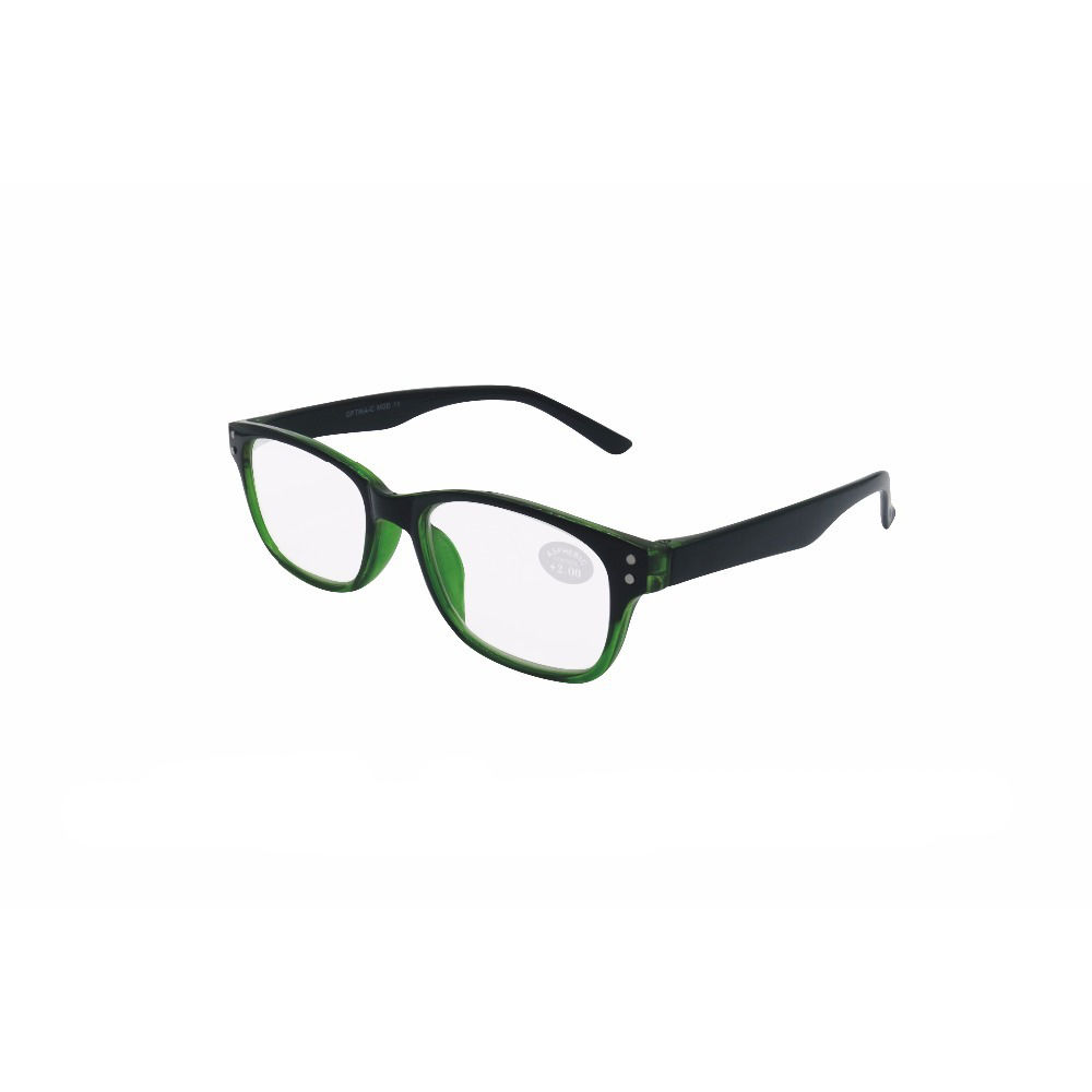 supermarket color pouch high quality spring hinge reading glasses