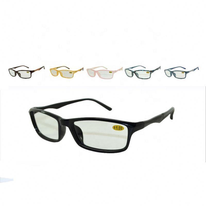 special design black frame cheap reading glasses
