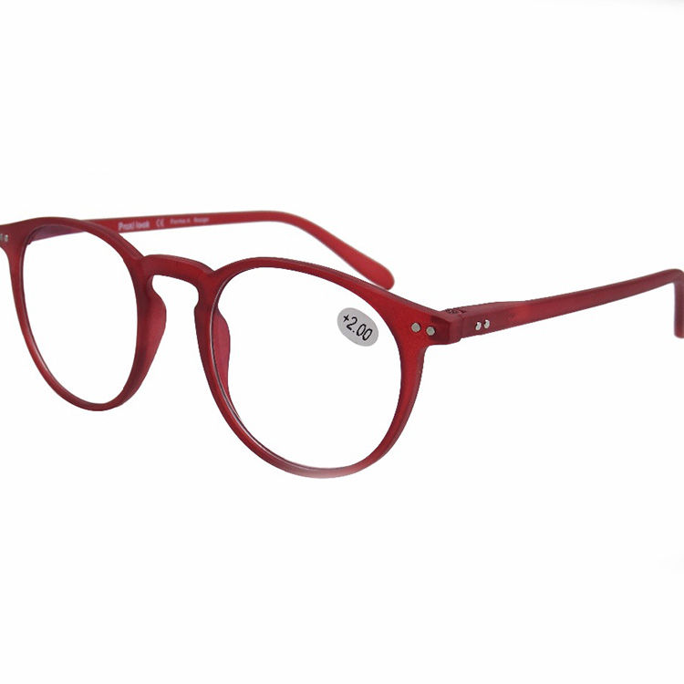 EUGENIA hot selling fashion style clear lenses color and slim style reading glasses