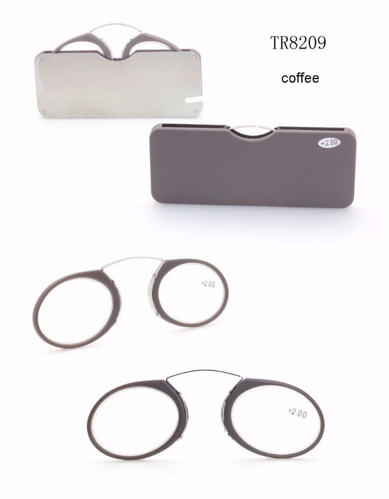 fashion colorful clic reading glasses easy carry reading glasses pocket