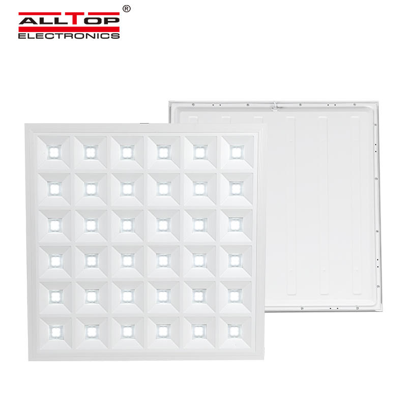 ALLTOP Newest design warm bright indoor lighting smd 48w recessed square led panel light