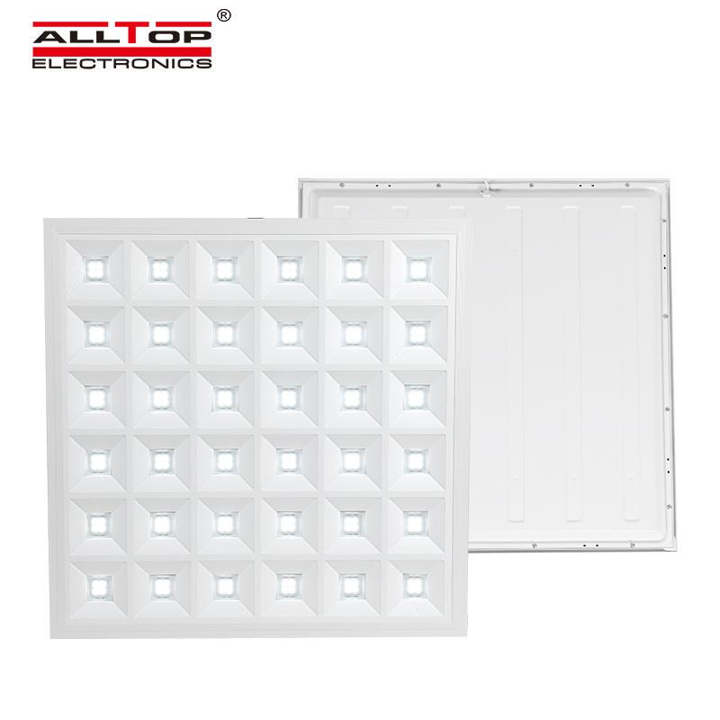 ALLTOP Newest design warm bright indoor lighting smd 48w recessed square led panel light