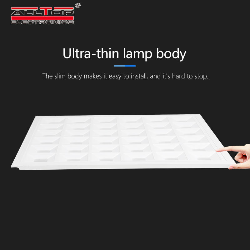 ALLTOP High brightness office home hospital ceiling lighting 48w square flat led panel lamp