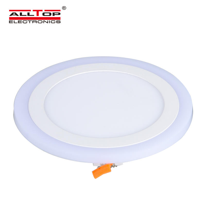 High quality surface mounted residential 3 watt round LED panel light