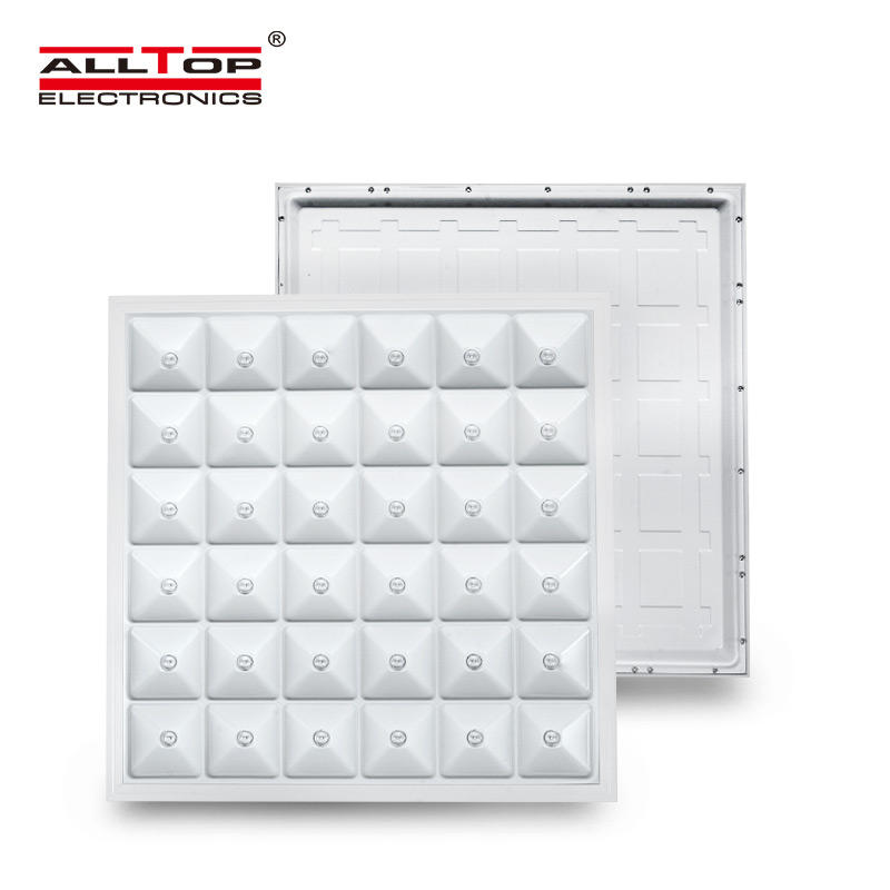 ALLTOP Newest design surface mounting square ceiling lighting PC 36w led panel light