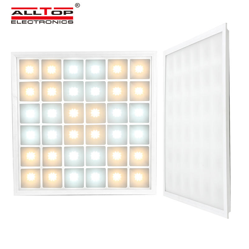 ALLTOP 2020 New Design 600x600 Slim Indoor Office Home Hospital Ceiling Lighting 48W Led Panel Light