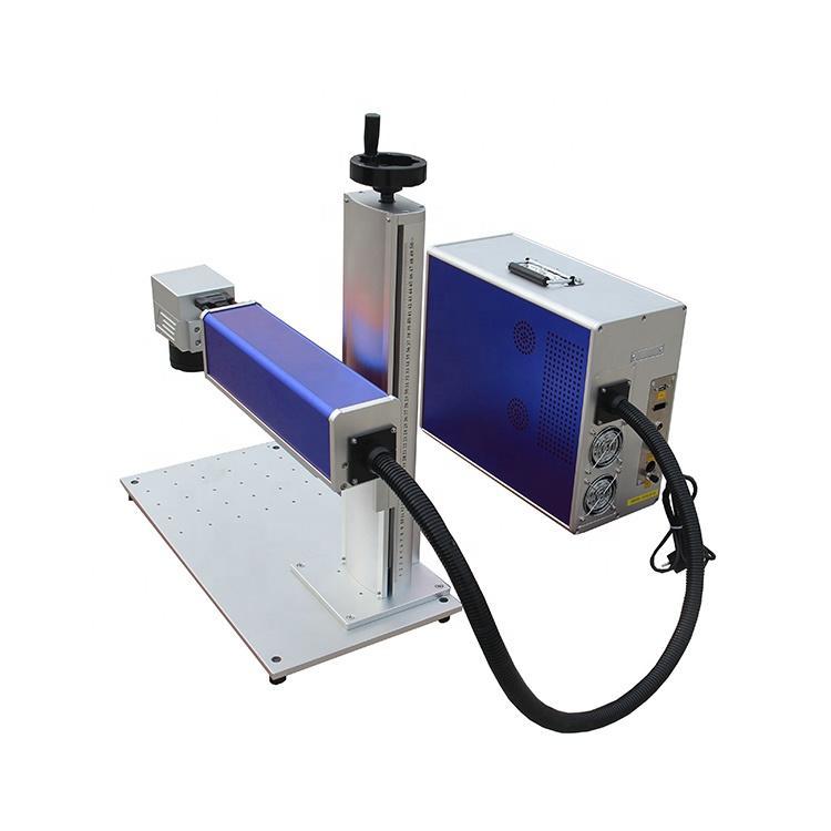 Multifunction 20w Bar Code FiberUv Laser Marking Machine