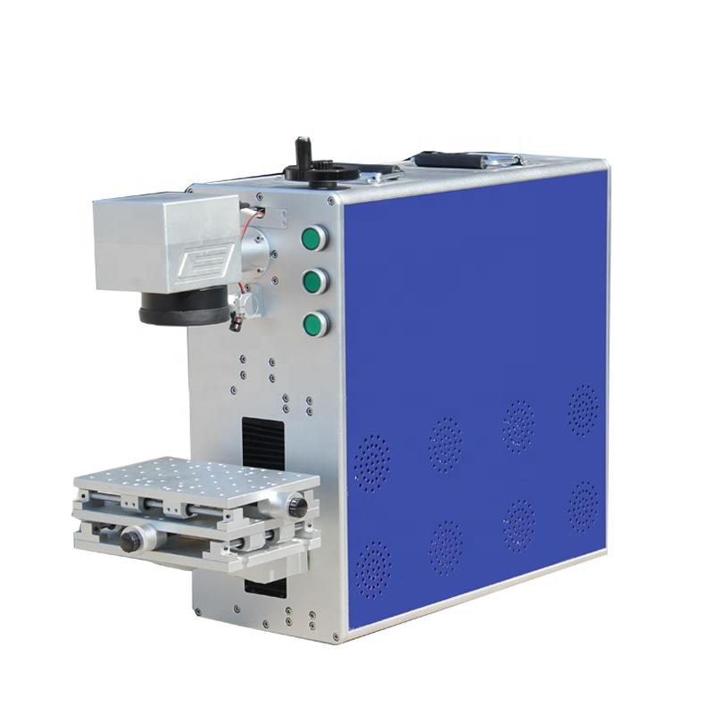 Portable 30 Watt Fiber Laser Marking Machine for Metal Steel Aluminum Plastic