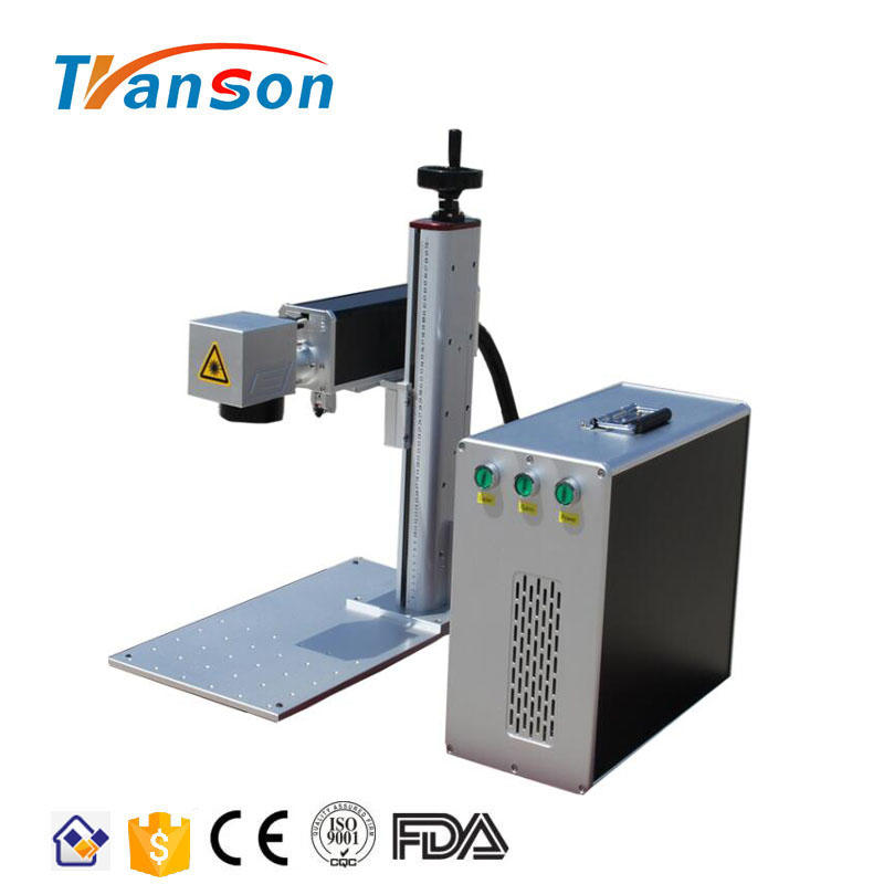 Transon 20W Fiber laser Marking Machine Mini Type with MAX Laser