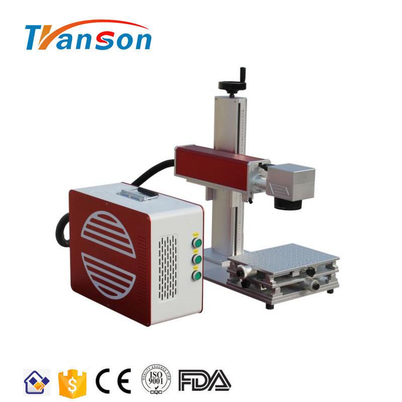 Sale Mni Size Gold And Silver Fiber Laser Engraving Machine For Marking on All Metals