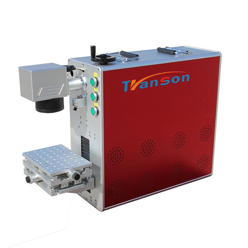 High performance ipg fiber laser marking machine portable for sale