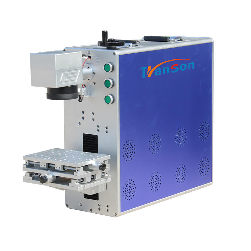 cost effective 30W Raycus cnc fiber laser marking machine for marking ceramic products