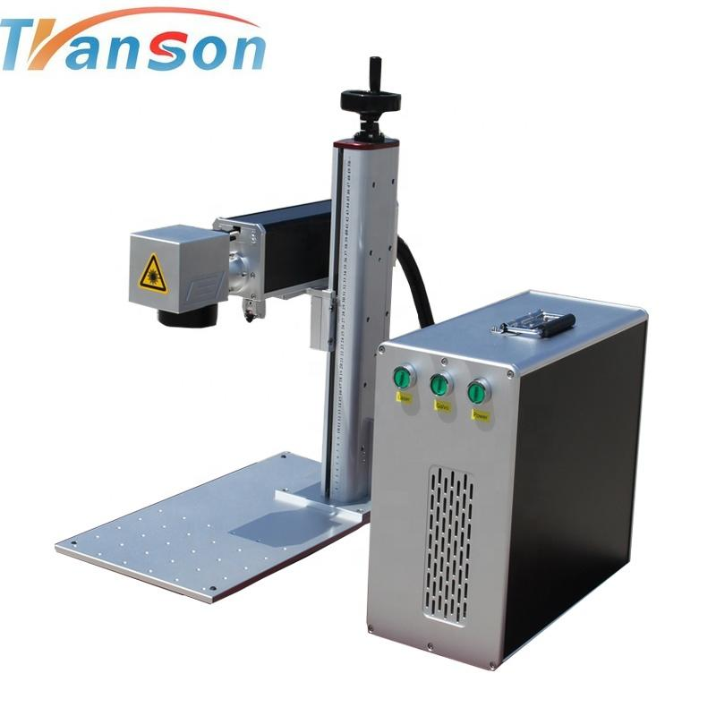 factory supply 20W IPG mini Fiber cnc Laser Marking Machine for cooking utenlis