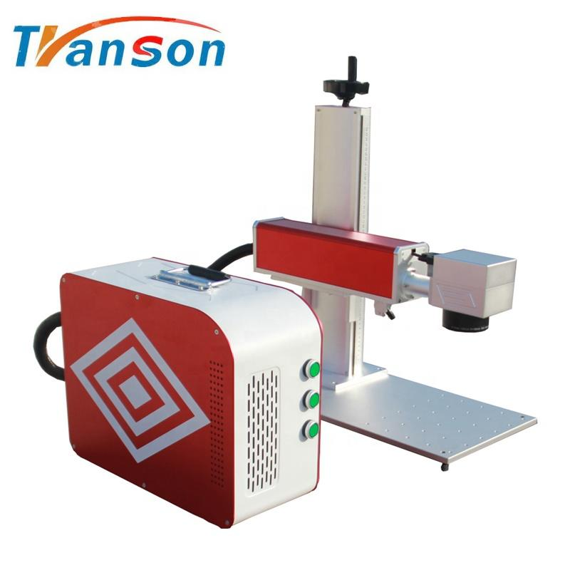 Good Quality and High Precision 20W Raycus CNC Mini Fiber Laser Marking Machine for Phone Case Marking