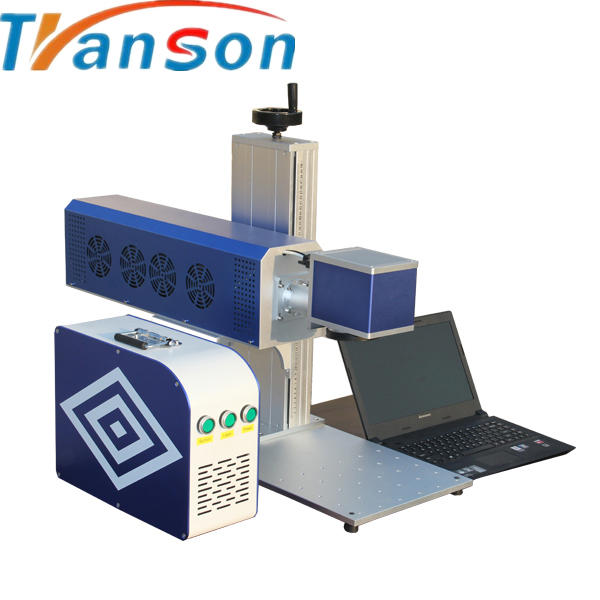 hot sale with DW China RF Metal tube cnc wood, paper, leather, cloth CO2 laser marking cutting machine 15w 30w