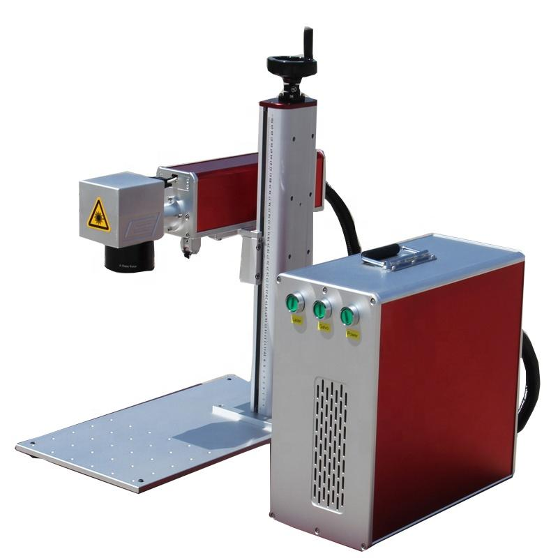 20W Fiber Laser Marking Machine Price desktop mark brand Transon