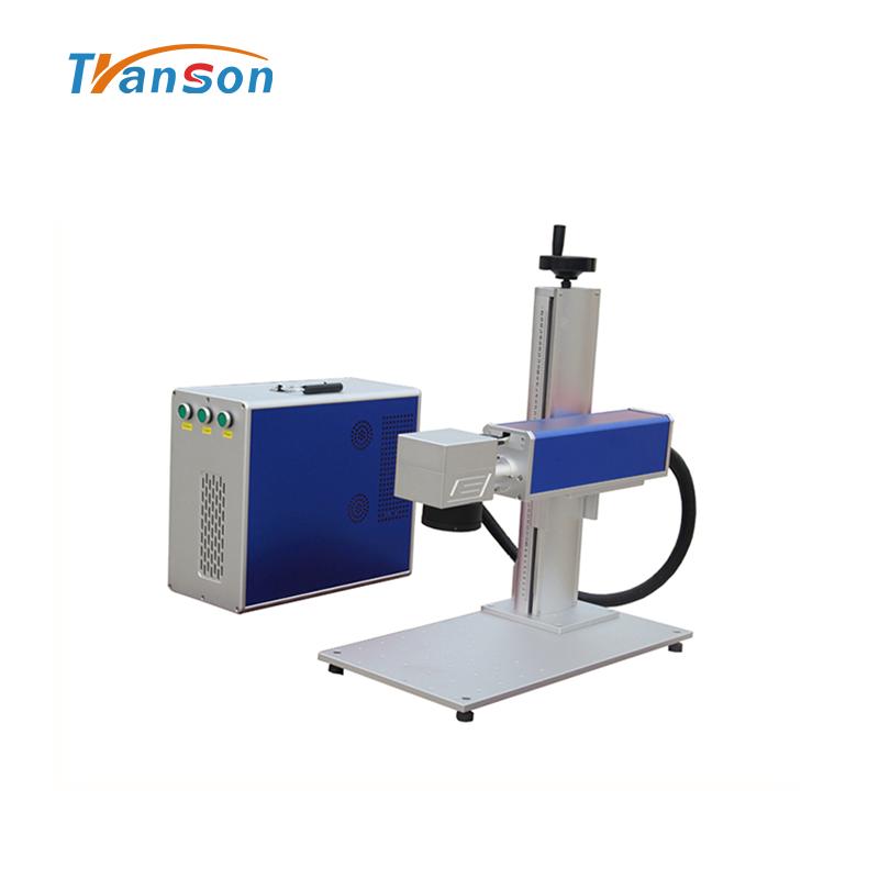Transon High Power 100W Fiber laser Marking Machine Mini Type with MAX Laser