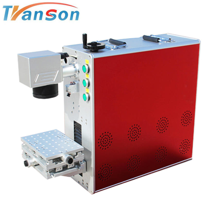 Portable 30W Raycus CNC Alloy Fiber Laser Marker/Fiber Laser Marking Machine etc 20w 30w for sale