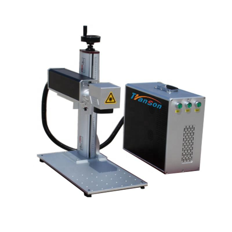 Raycus 20W 30W 50W Mini Fiber Laser Marking Machine With 2D Worktable