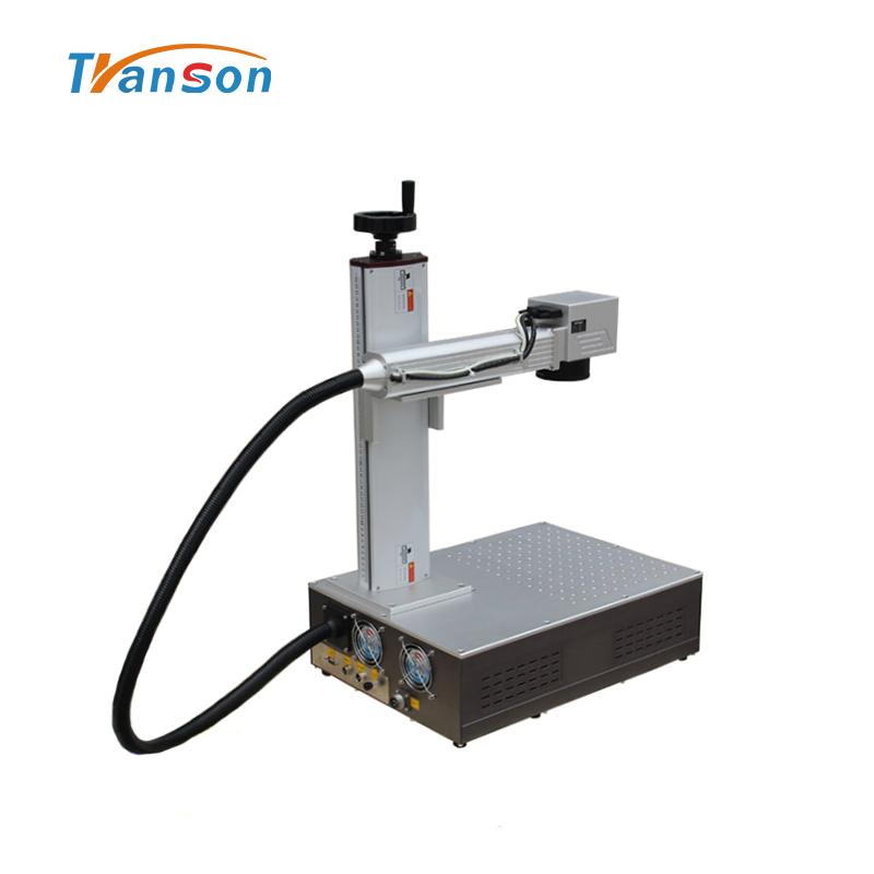 30WFiber laser Marking Machine Super Mini Type for Metal Plastic Gold Silver Steel DIY Art and Craft
