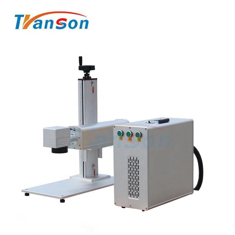 High Speed 50W Mini Fiber Laser Cutting Machine for Marking Cutting Gold Silver Brass Aluminum