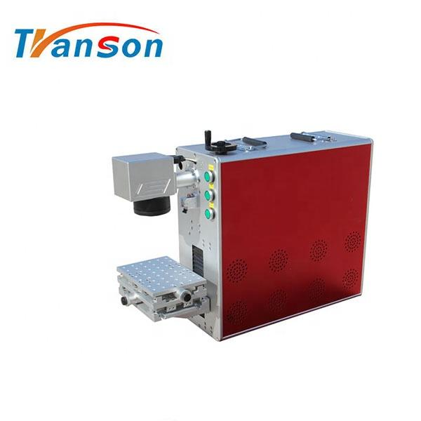 Factory price JPT mopa M7 fiber laser marking machine for marking color on stainless steel 30W